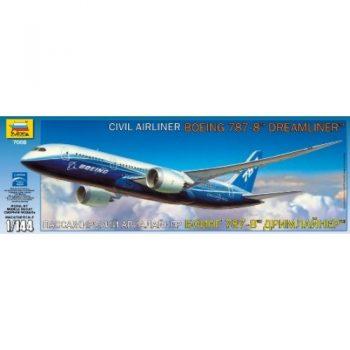 """7008 Zvezda Keleivinis avialaineris """"Boeing 787 Dreamliner"""""""
