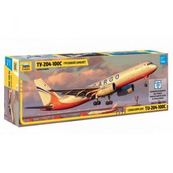 "7031 Zvezda Avialaineris ""TU – 204-100C Cargo"""