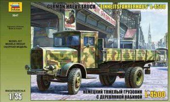 3647 Zvezda Vokiškas sunkvežimis