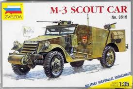 3519 Zvezda M-3 Scout car