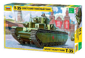 3667 Zvezda Havy tank T35