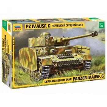 """3674 Zvezda Tankas """"PANZER IV AUSF.G"""""""