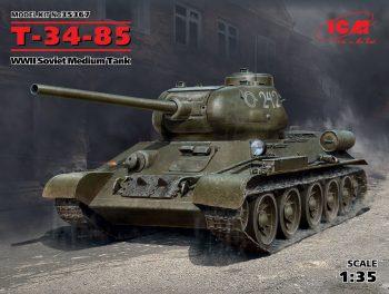 35367 ICM Т-34-85, WWII Soviet Medium Tank