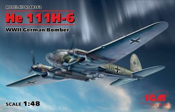 48262 ICM He 111H-6, WWII German Bomber