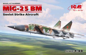 48905 ICM MiG-25 BM, Soviet Strike Aircraft