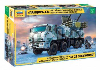 3698 Zvezda Priešlėktuvinė gynybos sistema ''SA-22 Greyhound''