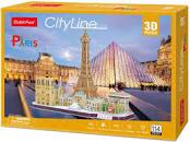 MC254h CubicFun City Line Paris 3D 114pcs