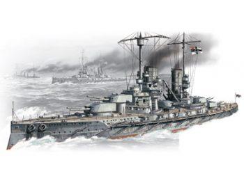 ICM S002 WWI German battleship Grosser Kurfuerst