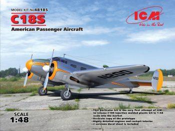 ICM 48185 C18S American Passenger Aircraft