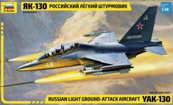 Zvezda 4821 YAK-130 Russian Light Ground-Attack Aircraft