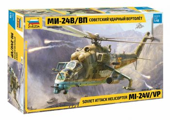 Zvezda 4823 Soviet Attack Helicopter MI-24V/VP