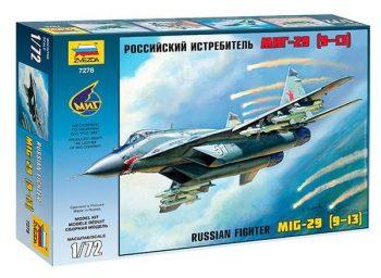 7278 Zvezda MiG 29