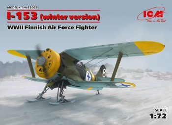 ICM 72075 I-153 Finish Air Force