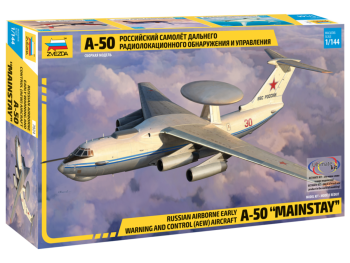 """7024 Zvezda Russian Airborne Early Warning and Control (AEW) Aircraft A-50 """"Mainstay"""""""