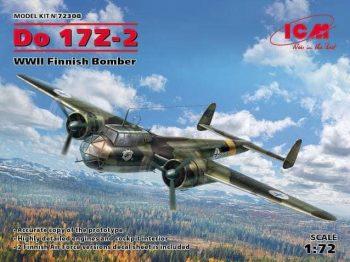 ICM 72308 DO 17Z-2 WWII Finnish Bomber