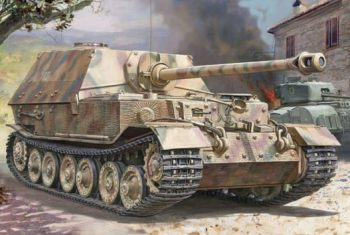 3659 Zvezda German Tank Destroyer Elefant