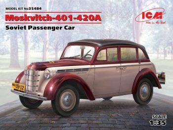 ICM 35484 Moskvitch-401-420A