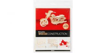 3d medinė dėlionė ''Motociklas''