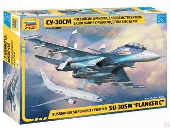 7314 Zvezda - Sukhoi Su-30SM 'Flanker-C', Mastelis: 1/72