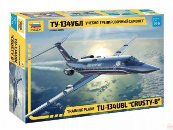 "7036 Zvezda - Training plane TU-134UBL ""CRUSTY-B"", Mastelis: 1/144"