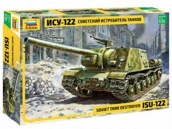 3534 Zvezda ISU-122 Soviet self-propelled gun