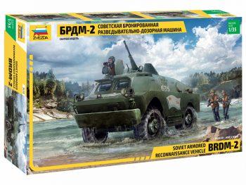 3638 Zvezda - BRDM-2, 1/35