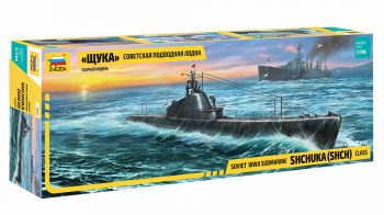 9041 Zvezda Soviet WWII Submarine Shchuka (SHCH) Class