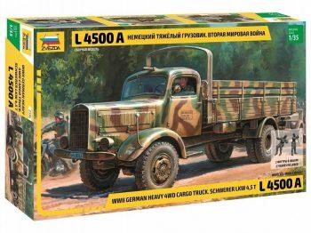 3596 Zvezda - German Heavy Truck L4500A, 1/35