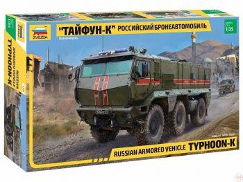3701 Zvezda - Russian Armored Vehicle Typhoon-K, 1/35