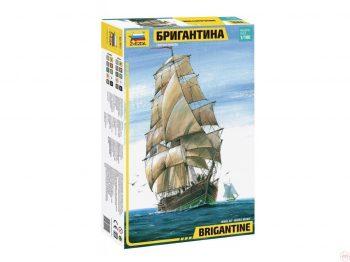 9011 Zvezda - Brigantine, 1/100