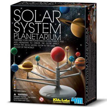 00-03257 4M Vaikiška laboratorija: saulės sistemos planetariumas
