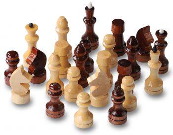 Lakuoti šachmatai 29x29x1,9 cm