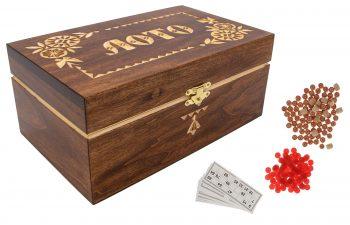 """Žaidimas """"Rusiškas loto"""" suvenyrinėje dėžutėje"""