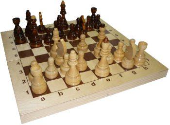 Turnyriniai šachmatai 42x42 cm