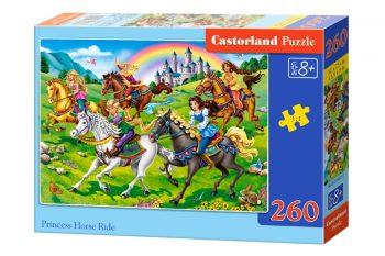 B-27507 Castorland PRINCESS HORSE RIDE