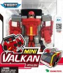 TOBOT Transformeris ATHLON MINI VALCAN, 13 cm