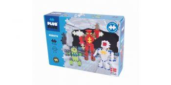Plus Plus konstruktorius, Robotai, Mini neoninės 170, 3828