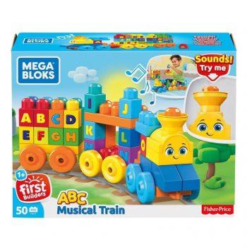 """FWK22 Mega Bloks """"Grojantis traukinys"""", 50 vnt"""