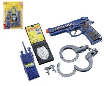 80400 Vaidmenų žaidimas Happy People Play Police Set