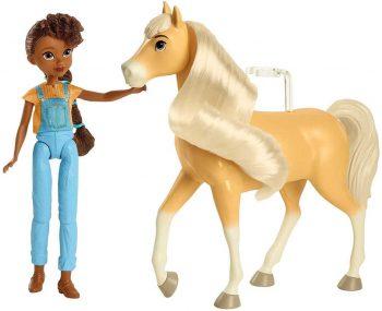 CFX20 Mattel Spirit žirgo ir lėlės rinkinys. Granger & Linda.