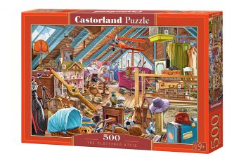 B-53407 Castorland THE CLUTTERED ATTIC