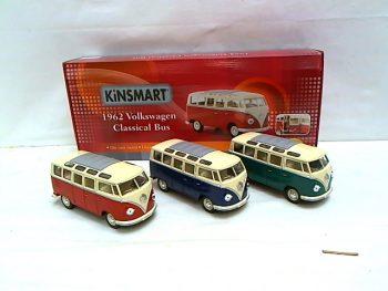 Art: 5907700649438 - Mašina metalinė VW CLASSICAL BUS,1962m.