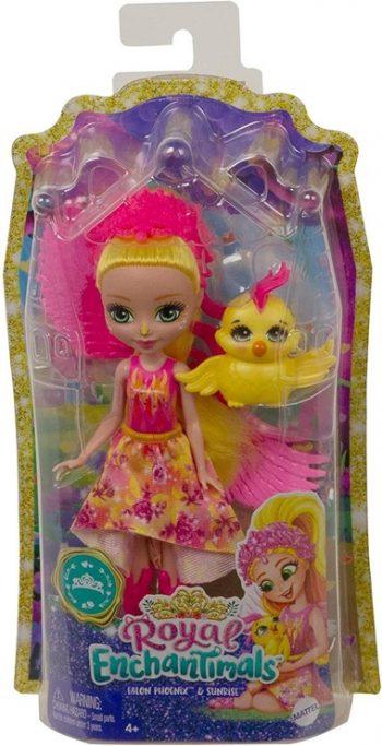 GYJ04 Mattel Lėlė Royal Enchantimals
