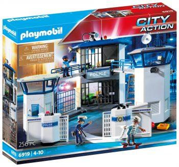 """Playmobil City action, """"Policijos nuovada su kalėjimu"""""""