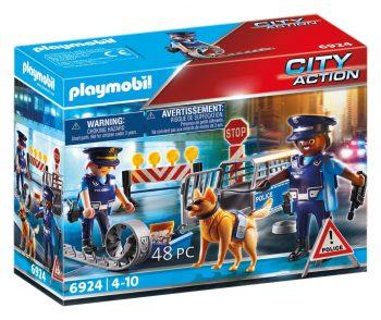 Playmobil City Action, Policijos patruliai ir kliūčių ruožas, 6924