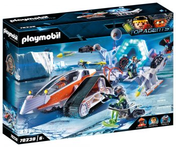 Playmobil Top Agents, Šnipų komanda, 70230