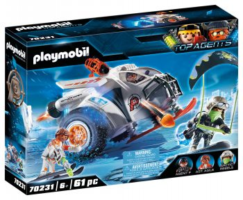 Playmobil Top Agents, Išmanios rogės, 70231