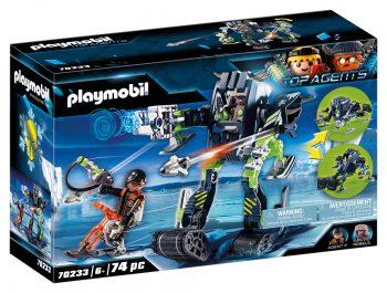 Playmobil Top Agents, Arkties maištininkai su ledo robotu, 70233