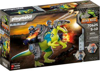 Playmobil Dino Rise, Spinosaurus: Dviguba gynybos jėga, 70625