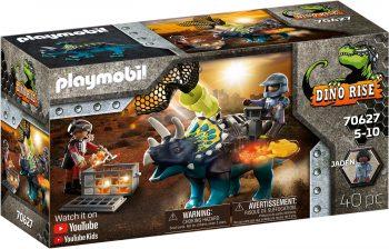 Playmobil Dino Rise, Triceratopsas: Kova už legendinius akmenis, 70627